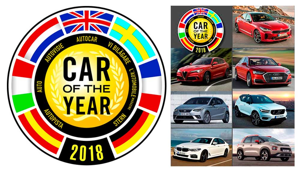Car of the Year 2018: estos son los 7 finalistas